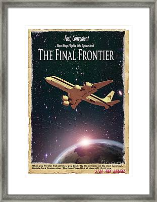 The Final Frontier Framed Print by Juli Scalzi