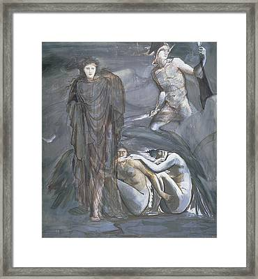 The Finding Of Medusa, C.1876 Framed Print by Sir Edward Coley Burne-Jones
