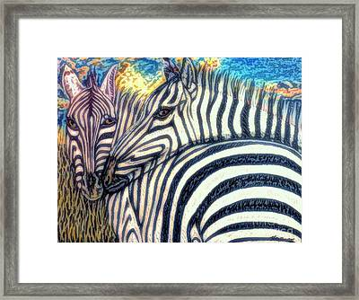 The Fire Ignited From Within Framed Print by Kimberlee Baxter