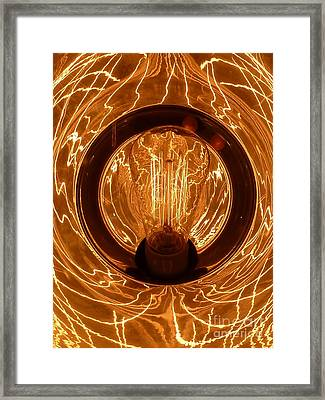 The Fire Within Framed Print by Newel Hunter
