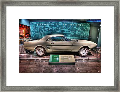 The First Mustang  Framed Print by Nicholas  Grunas