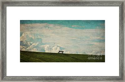The First Place To Heaven Framed Print by Angela Doelling AD DESIGN Photo and PhotoArt