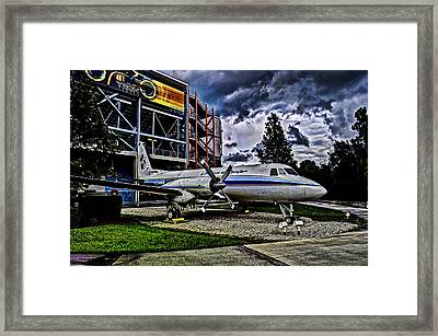 The First Plane Framed Print by Ryan Crane