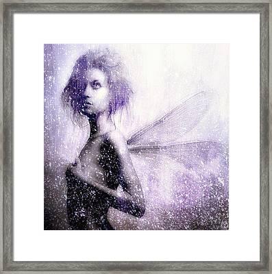 The First Spring Fairy Framed Print by Gun Legler