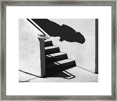 The First Step Framed Print by Larry Butterworth