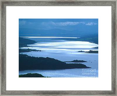 The Firth Of Clyde Framed Print by Joan-Violet Stretch