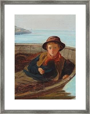 The Fisher Boy Framed Print by William McTaggart