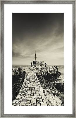 The Fishermen's Hut Framed Print by Marco Oliveira