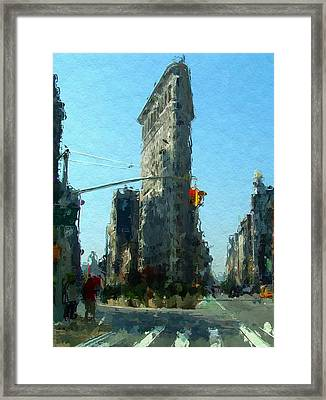 The Flatrion Framed Print by Stefan Kuhn