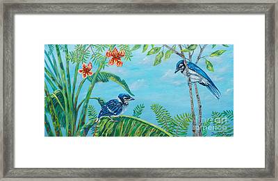 The Fledgling Framed Print by Danielle  Perry