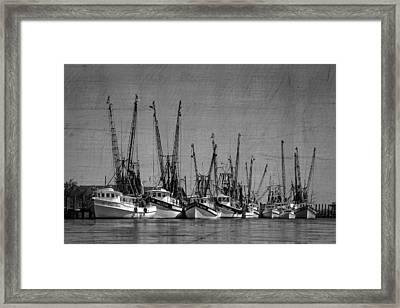 The Fleet Framed Print by Debra and Dave Vanderlaan