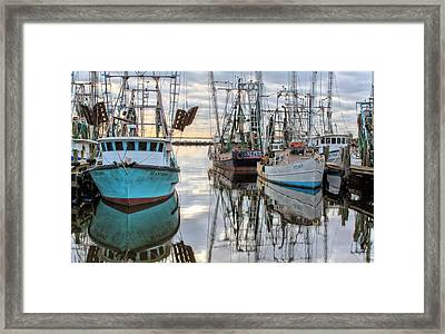 The Fleet Framed Print by JC Findley