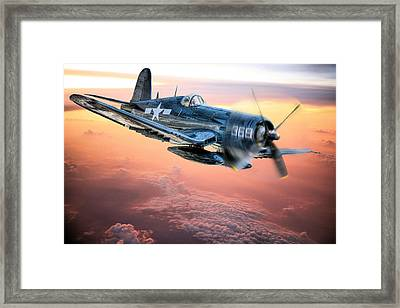 The Flight Home Framed Print by JC Findley