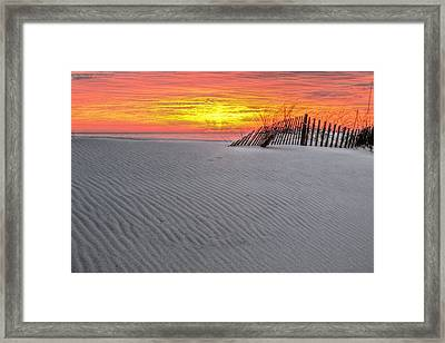 The Florida Alabama Line Framed Print by JC Findley