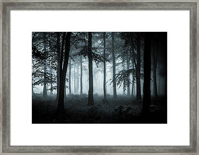The Fog Framed Print by Ian Hufton