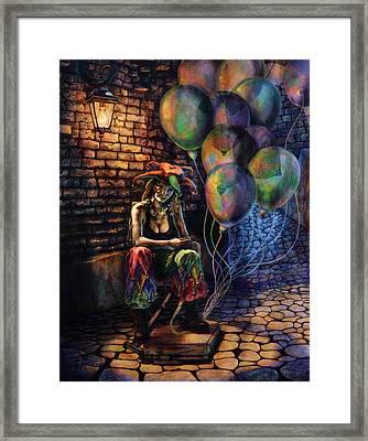 The Fool Dreamer Framed Print by Kd Neeley