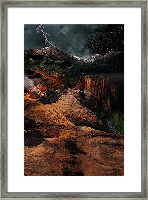 The Fool Framed Print by Ric Soulen