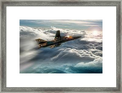The Force Of One Framed Print by Peter Chilelli