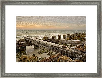 The Forces Of Nature Framed Print by Norman Gabitzsch
