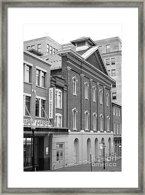 The Ford Theater  Framed Print by Olivier Le Queinec