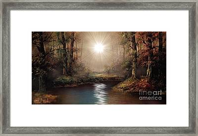 The Forest Framed Print by Michael Rucker