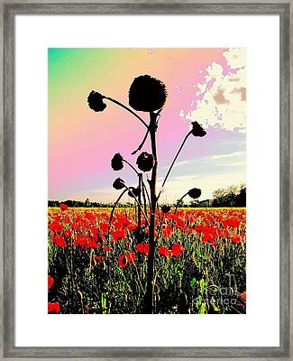 The Forgotten Of Van Gogh - 13 Framed Print by Flow Fitzgerald