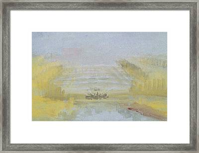 The Fountains At Versailles Framed Print by Joseph Mallord William Turner