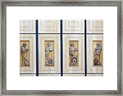 The Four Evangelists Framed Print by Ken Welsh