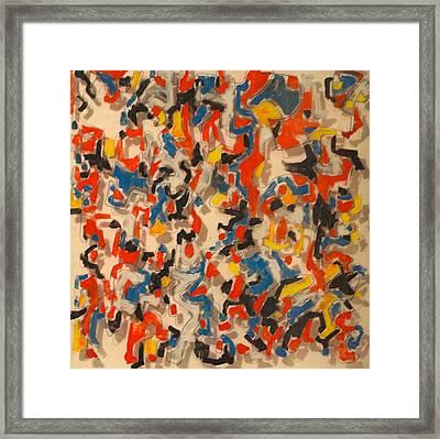 The Fourth Dimension Framed Print by Jymmy Forest