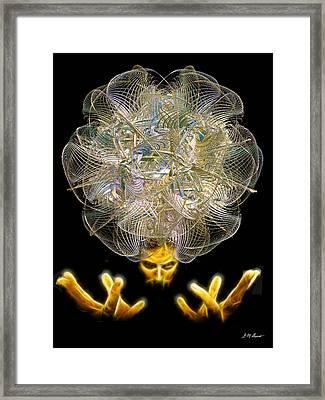 The Fractal Artist Framed Print by Michael Durst