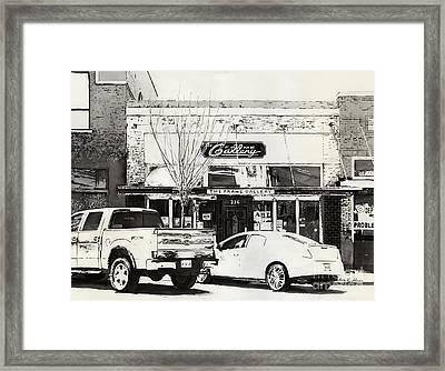 The Frame Gallery Framed Print by Hailey E Herrera