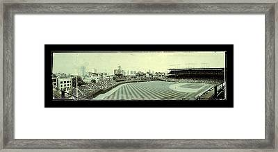 The Friendly Confines Framed Print by Jame Hayes