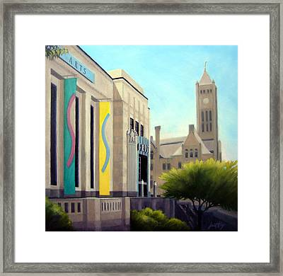 The Frist Center Framed Print by Janet King