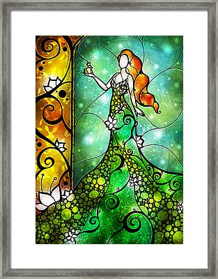 The Frog Prince Framed Print by Mandie Manzano