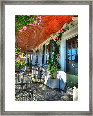 The Front Porch 2 Framed Print by Mel Steinhauer