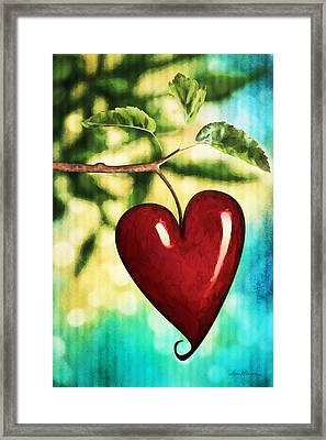 The Fruit Of The Spirit Framed Print by April Moen
