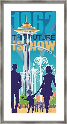The Future Is Now - Daytime Framed Print by Larry Hunter