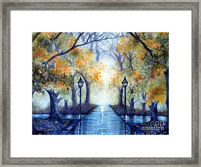 The Future Looks Bright Framed Print by Janine Riley