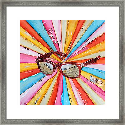 The Future's So Bright Framed Print by Danny Phillips