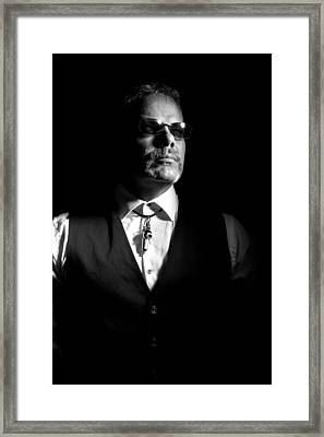 The Gambler Framed Print by Monte Arnold
