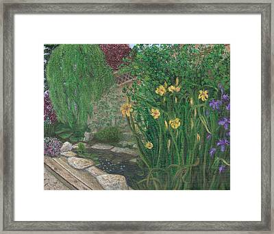 The Garden Framed Print by Catherine Howard