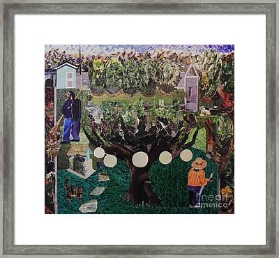 The Garden Framed Print by Mack Galixtar