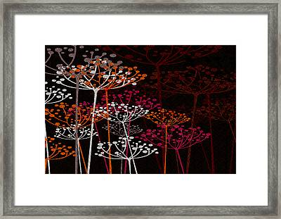 The Garden Of Your Mind 1 Framed Print by Angelina Vick
