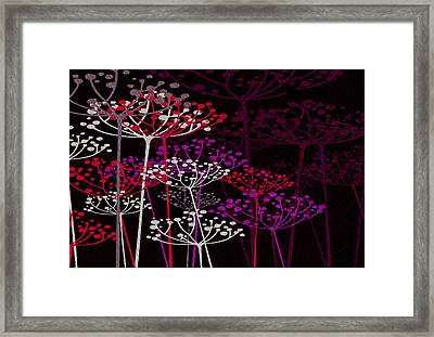 The Garden Of Your Mind 3 Framed Print by Angelina Vick