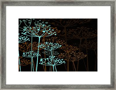 The Garden Of Your Mind 4 Framed Print by Angelina Vick