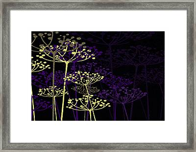 The Garden Of Your Mind 5 Framed Print by Angelina Vick
