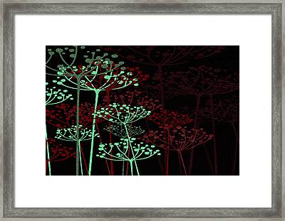 The Garden Of Your Mind 6 Framed Print by Angelina Vick