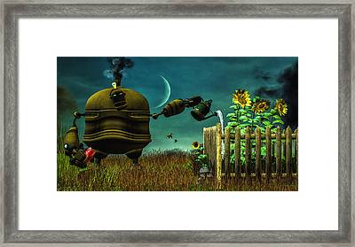 The Gardener Framed Print by Bob Orsillo