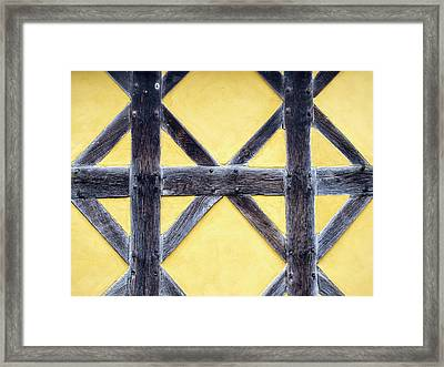 The Gate House At Stokesay Castle Framed Print by Ashley Cooper