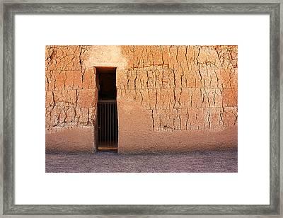 The Gate Framed Print by Joe Kozlowski